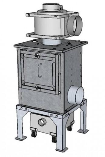 ストーブ用小型煤取装置